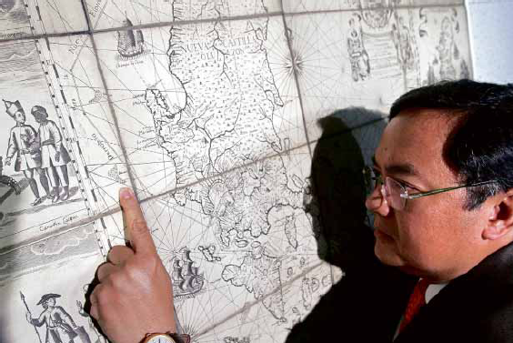 MEL VELARDE points to Bajo deMasinloc, now known as Panatag or Scarborough Shoal, as incontrovertible proof that it has always been part of the Philippines. RICHARD A. REYES